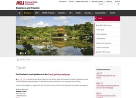 travel.asu.edu