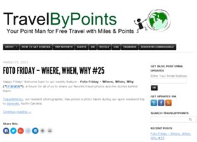 travelbypoints.com