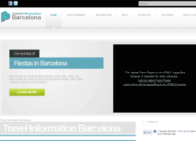 travelinformationbarcelona.com
