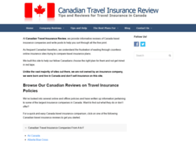 travelinsurancereview.ca