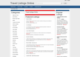 travellistingsonline.co.uk