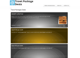 travelpackagesdeals.co.za