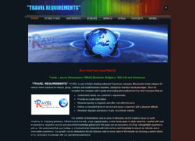 travelrequirements.weebly.com