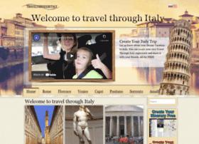 travelthroughitaly.com