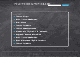 travelwelldocumented.com