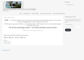 travelwritersincentivesandperks.wordpress.com