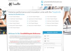 Treadmillrepairs-service.com.au