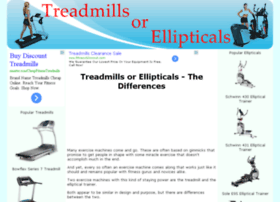 treadmillsorellipticals.com