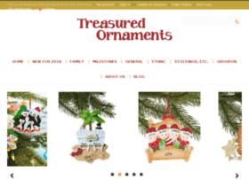 treasuredornaments.com