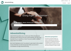 treasurers.adventistgiving.org