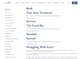 treatmentforacneskin.com