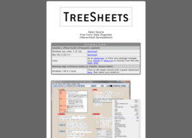 treesheets.com