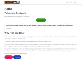 trendynote.com