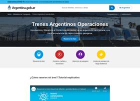 trenesargentinos.gob.ar