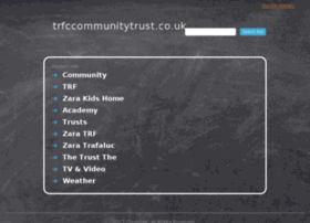 trfccommunitytrust.co.uk