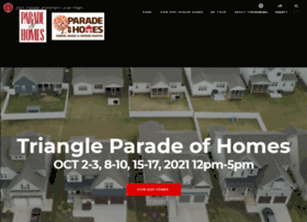 triangleparadeofhomes.com