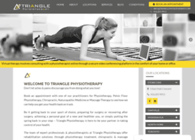 trianglephysiotherapy.com