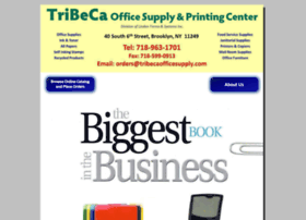 tribecaofficesupply.com