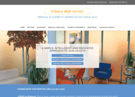 tribecaskincenter.com