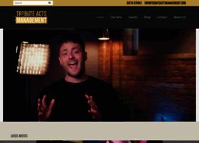 tributeactsmanagement.com
