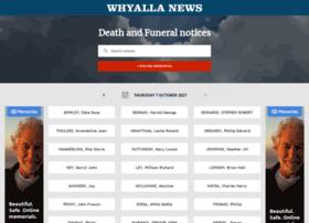 tributes.whyallanewsonline.com.au