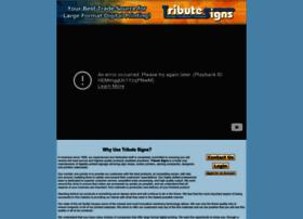 tributesigns.com