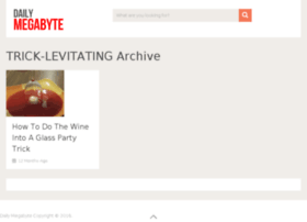 trick-levitating.dailymegabyte.com