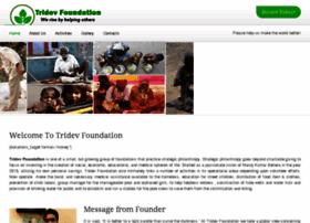 tridevfoundation.com