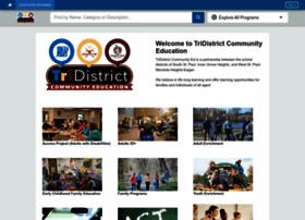 tridistrict.thatscommunityed.com