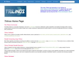trilinos.org