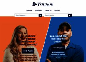 trilliumstaffing.com