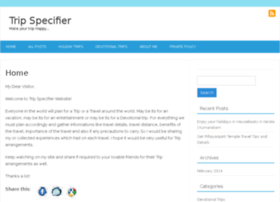 tripspecifier.com
