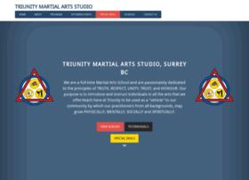 triunitymartialarts.com