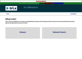 trixresources.proceduresonline.com