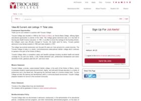 trocaire.applicantpro.com
