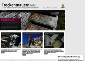 trockenmauern.info