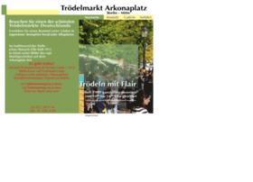 troedelmarkt-arkonaplatz.de