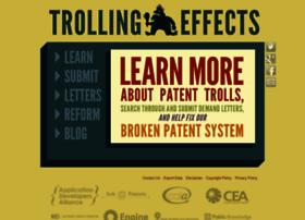trollingeffects.org