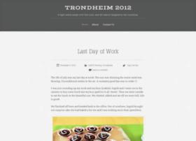 trondheim2012.wordpress.com
