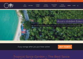 tropicalspicegarden.com