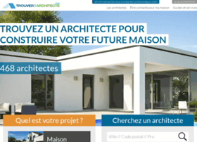 trouverunarchitecte.com