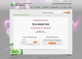 tru-west.ws