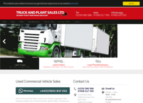 truckandplantsalesltd.com