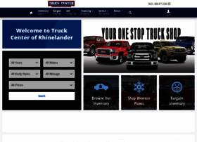 truckcenterofrhinelander.com
