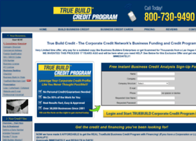 truebuildcredit.com