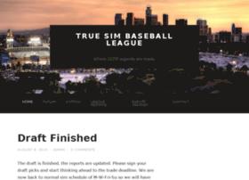 truesimbaseball.com