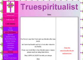 truespiritualist.co.uk
