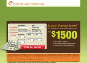 trustedcashadvantage.com