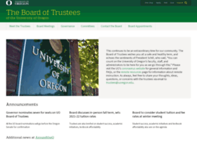 trustees.uoregon.edu