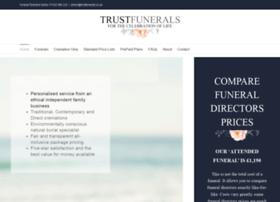 trustfunerals.co.uk